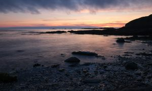 Niarbyl Sunset by Andrea Thrussell