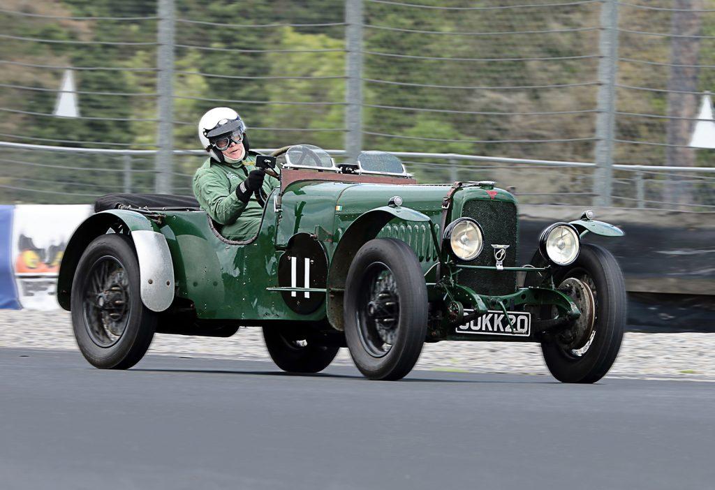 Vintage Racing Car by John Keelan