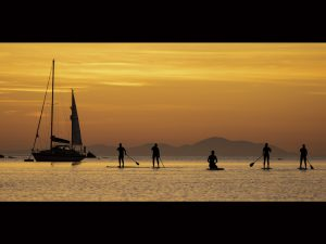 Paddleboarders by Jim Gibson