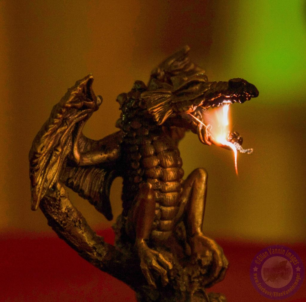 Fire Breathing Dragon by Jim Gibson