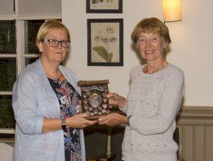 Christmas trophy winner Gwen Tuck