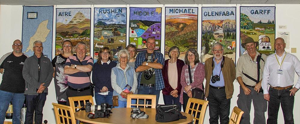 Members visit to Tynwald Chambers