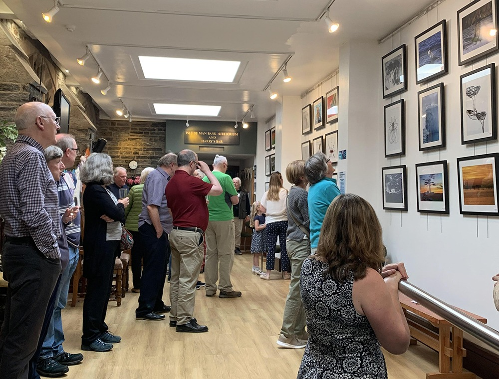 Southern Photographic Society 50th Anniversary Exhibition opening