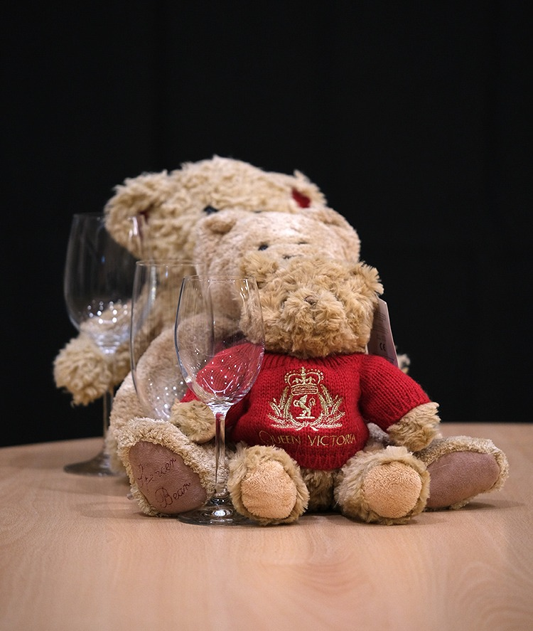 Depth of teddies by Andrea Thrussell